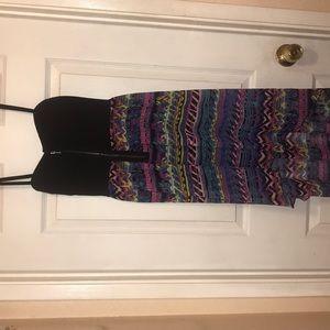 Multi color high low Rue 21 dress